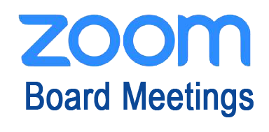 Zoom Board Meetings